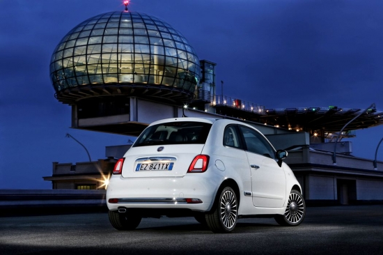 Fiat 500 facelift: images and official information