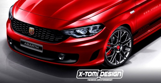 Fiat Aegea Abarth by X-Tomi Design, or how the sports version should look like