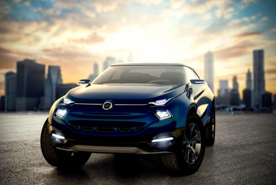 Fiat Fcc4 concept, or how to combine Evoque and pickup