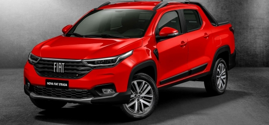New Fiat Strada, the rival Dacia Logan pickup