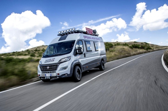 Fiat with a new brainchild: Ducato 4×4 Expedition